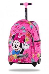 ZESTAW 2 el. Plecak CoolPack JACK na kółkach Myszka Minnie, MINNIE MOUSE TROPICAL (B53301SET2CZ)
