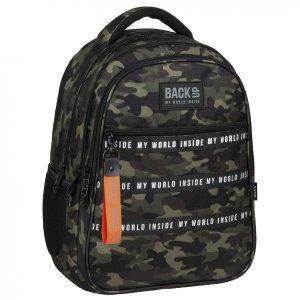 Plecak szkolny młodzieżowy BackUP 28 L MORO (PLB4I46)