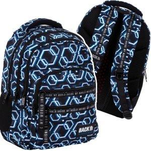 Plecak szkolny młodzieżowy BackUP 28 L ONLINE (PLB4M53)