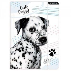 Teczka rysunkowa A4 z gumką STARPAK Cute Doggy PIESEK (473026)