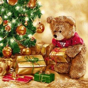 Serwetki świąteczne bożonarodzeniowe Maki (SL_GW_010901)