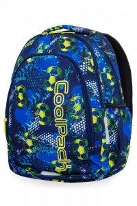 Plecak CoolPack PRIME w piłkę nożną, FOOTBALL BLUE (B25037)
