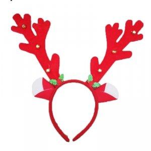 Opaska świąteczna na głowę ROGI RENIFERA (900054)