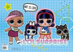 Podkład laminowany LOL L.O.L. SURPRISE! A3 (39623)