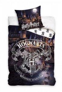 Pościel bawełniana Harry Potter 160 x 200 cm HOGWART komplet pościeli (HP183016B)