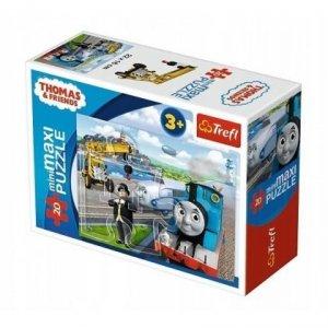 TREFL Puzzle miniMaxi 20 el. Tomek i przyjaciele (21072)