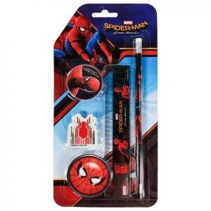 Zestaw 4 przyborów szkolnych Spiderman (ZPS4SH12)