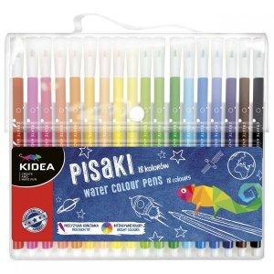 Pisaki  w etui 18 kolorów KIDEA (PIA18KA)