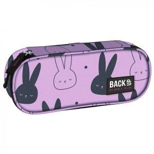 Piórnik szkolny BackUP króliczki, BUNNY (PB4A35)