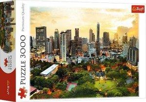 TREFL Puzzle 3000 el. Zachód słońca w Bangkoku (33060)