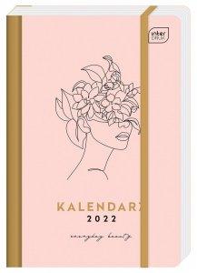 Kalendarz książkowy B6 METALLIC BEAUTY 192 strony 2022 (00331)
