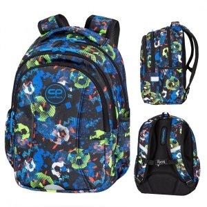 Plecak wczesnoszkolny CoolPack JOY S 21L piłka nożna, FOOTBALL BLUE (D048336)