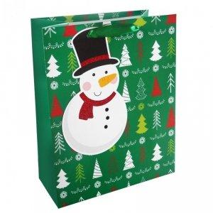 Torebka świąteczna na prezent BAŁWANEK Incood. (0071-0311)