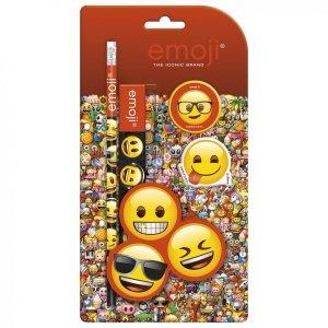 Zestaw 4 przyborów szkolnych Emoji EMOTIKONY (ZPS4EM10)