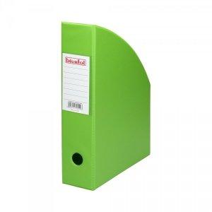 Pojemnik na dokumenty Segregator PVC ZIELONY 7 cm (00427)