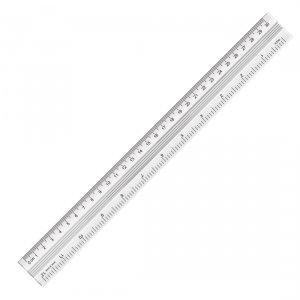 Linijka aluminiowa metalowa 30 cm YN TEEN (74243)