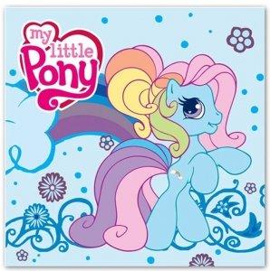 Ręcznik dziecięcy MAGICZNY My Little Pony Kucyki 30 x 30cm (MLP)