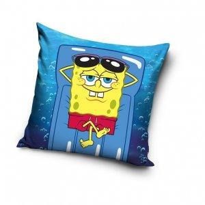 Poszewka na poduszkę  Spongebob Kanciastoporty 40 x 40 cm  (SBOB192012)
