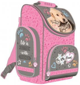 Tornister szkolny My Little Friend CAT & DOG Kotek i piesek (28481)
