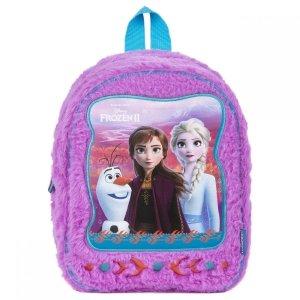 Plecak przedszkolny pluszowy Kraina Lodu FROZEN 2 wycieczkowy (PLP10KL26)
