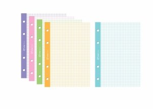 Wkład do segregatora A4 5 x 50 kartek (86874)
