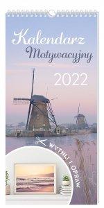 Kalendarz ścienny motywacyjny WIDOKI 2022 (00096)
