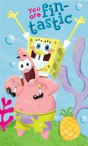 Ręcznik dziecięcy Spongebob Kanciastoporty 30 x 50 cm  (SBOB163038)