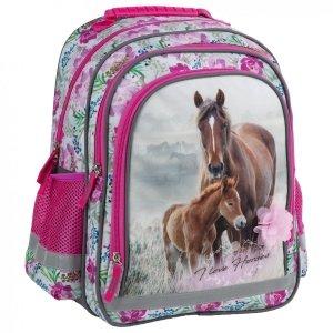 Plecak szkolny I LOVE HORSES Konie (PL15BKO18)
