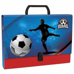 Teczka twarda z rączką FOOTBALL Piłka nożna (TTRPI15)