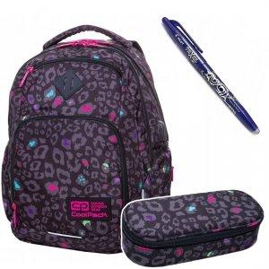 Plecak szkolny 29L Coolpack BREAK BLACK PANTHER + Piórnik + Frixion (B24044SET)