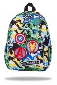 Plecak wycieczkowy CoolPack TOBY z naszywkami, AVENGERS BAGDES (B49308)