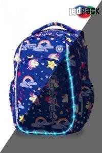 Plecak CoolPack LED STRIKE S jednorożce UNICORNS (94825)