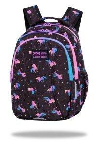 Plecak wczesnoszkolny CoolPack JOY S 21L jednorożce, DARK UNICORNS (C48234)