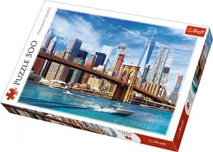 TREFL Puzzle 500 el. Widok na Nowy Jork (37331)