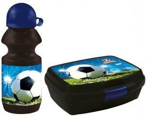 Zestaw bidon i śniadaniówka FOOTBALL Piłka nożna (BKPI16+SPI16)