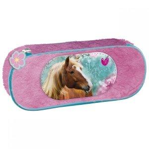 Piórnik szkolny pluszowy I LOVE HORSES Konie (PPAKO19)