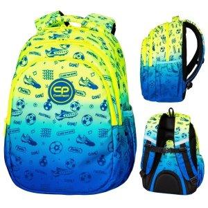Plecak wczesnoszkolny CoolPack JERRY 21 L piłka nożna, FOOTBALL (D029339)
