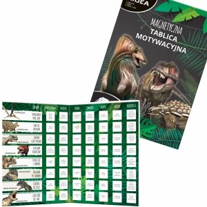 TABLICA MOTYWACYJNA magnetyczna Dinozaury KIDEA (TMMAKA)