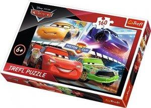 TREFL Puzzle 160 el. Auta Cars, Zwycięski wyścig (15356)