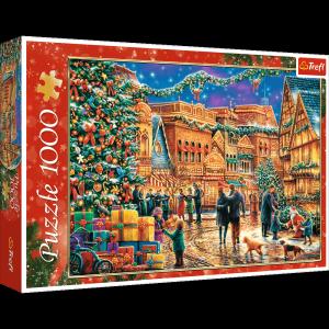 TREFL Puzzle 1000 el. Świąteczny rynek (10554)