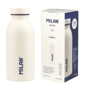 Bidon butelka izotermiczna Milan 354 ml KREMOWA (643012BG)
