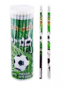 Ołówek z gumką do mazania STARPAK Piłka nożna FOOTBALL (298348)