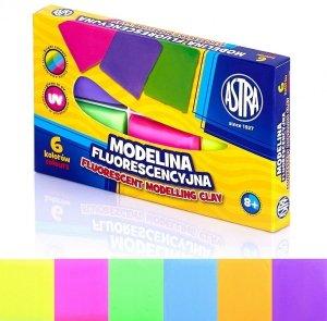 Modelina 6 kolorów fluorescencyjna ASTRA (83911902)