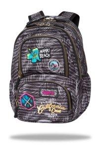 Plecak CoolPack SPINER 24 L  z naszywkami, BADGES G GREY (C01155)