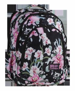 Plecak szkolny CoolPack PRIME 26 L różowe kwiaty, GIRL (84866)