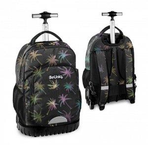 Plecak szkolny, młodzieżowy na kółkach palmy, PALM TREE Paso (PPPL20-1231)