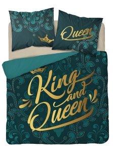 Pościel bawełniana HOLLAND COLLECTION 160 x 200 cm Queen & King komplet pościeli (3590A)