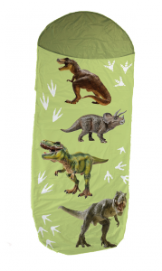 Śpiwór dziecięcy Dinozaury 140+30x70 cm (07161)