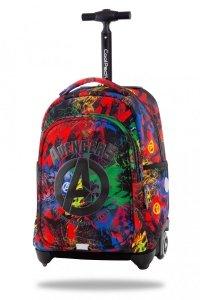 Plecak CoolPack JACK na kółkach graffiti, AVENGERS (B53307)