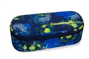 Piórnik CoolPack CAMPUS w piłkę nożną, FOOTBALL BLUE (B62037)